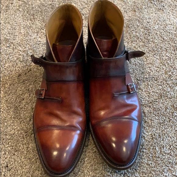 41dcd6c348e Magnanni Dionicio Monk Strap boot